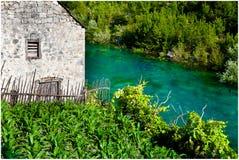 domowa stara rzeka Zdjęcie Royalty Free
