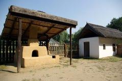 domowa stara tradycyjna wioska Obraz Stock