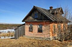 domowa stara wioska Zdjęcie Royalty Free