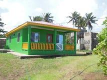 Domowa typowa architektura w Dużej Kukurydzanej wyspie Nikaragua Ameryka Środkowa obrazy royalty free
