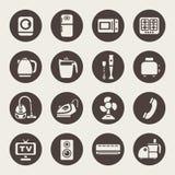Domowa urządzenie ikona royalty ilustracja