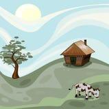 domowa wioska Zdjęcie Stock