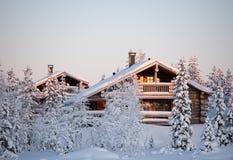 domowa zima Zdjęcia Royalty Free
