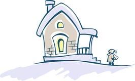 domowa zima Zdjęcie Stock