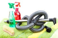Domowe cleaning dostawy Zdjęcie Royalty Free