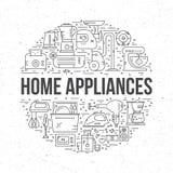 Domowe elektronika Zdjęcia Stock