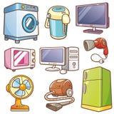 Domowe elektronika ilustracja wektor