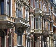 Domowe fasady, Gruenderzeit Obraz Royalty Free