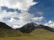 domowe góry Peru Obraz Royalty Free