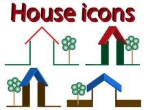 domowe ikony Royalty Ilustracja