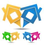 Domowe Ikony Obraz Stock