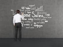 Domowe sprzedaże Obraz Stock