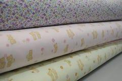 Domowe tkaniny Fotografia Stock