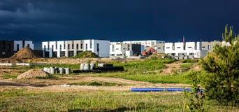 Domowego budynku budowy Obrazy Royalty Free