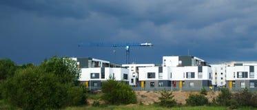 Domowego budynku budowy w Pilaite Obraz Royalty Free