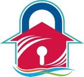 Domowego klucza logo Zdjęcie Royalty Free