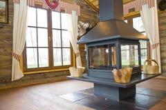 domowego myśliwego wnętrze s Obrazy Royalty Free