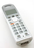 domowego telefonu przenośny biel Obraz Royalty Free