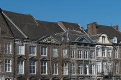 Domowego widoku stary miasteczko obraz royalty free