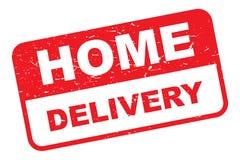 Domowej dostawy znaczek royalty ilustracja