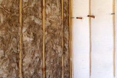 domowej izolaci nowa ściana Obrazy Stock