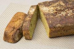 Domowej roboty świeżo piec pszeniczny niekwaszony chleb zdrowe jeść fotografia royalty free