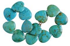 Domowej roboty żeńscy koraliki zrobią kierowych kształtów gładka zieleń zdjęcia royalty free