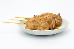 Domowej roboty azjata BBQ grilla wieprzowina obraz stock
