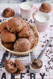Domowej roboty babeczki chlebowe Zdjęcie Stock