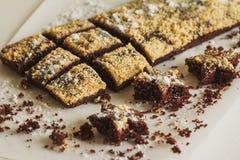 Domowej roboty biskwitowi ciastka Zdjęcia Royalty Free