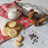 Domowej roboty bisquits Obraz Royalty Free