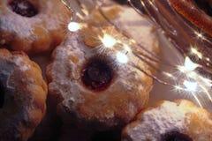 domowej roboty Bożych Narodzeń ciastka Wakacje, boże narodzenia, nowy rok Fotografia Stock
