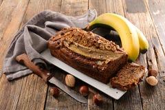 domowej roboty chleb bananowy Fotografia Royalty Free