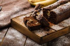 domowej roboty chleb bananowy Obraz Stock