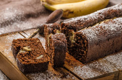 domowej roboty chleb bananowy Obrazy Royalty Free