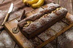 domowej roboty chleb bananowy Obrazy Stock