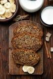 domowej roboty chleb bananowy Zdjęcia Stock