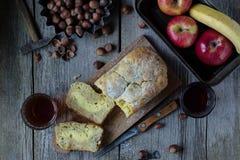 domowej roboty chleb bananowy Fotografia Stock