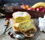 domowej roboty chleb bananowy Zdjęcia Royalty Free