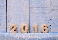 2016 domowej roboty ciastek Obraz Stock