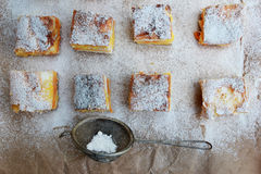 Domowej roboty ciastka zdjęcia stock