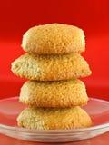 domowej roboty ciastka oatmeal Zdjęcie Royalty Free