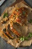 Domowej roboty cząber Spiced Meatloaf Zdjęcie Stock