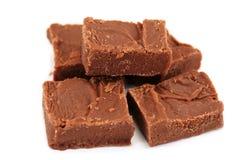 domowej roboty czekoladowy fudge Obrazy Royalty Free