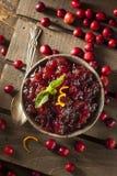 Domowej roboty Czerwony Cranberry kumberland Fotografia Stock