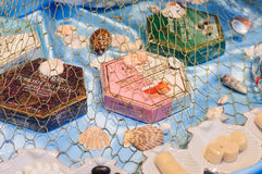 Domowej roboty deseru sklep Obrazy Royalty Free