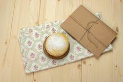 Domowej roboty dojni ciastka z sproszkowanym cukierem Zdjęcia Stock