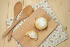 Domowej roboty dojni ciastka z sproszkowanym cukierem Fotografia Royalty Free