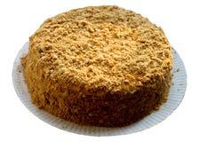 Domowej roboty domu tort. Obraz Stock
