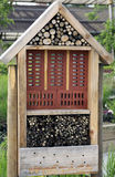 Domowej roboty hotel dla insektów Obraz Royalty Free